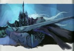 Arthas the Death Knight Concept Painting, Blizzard Entertainment, 2008