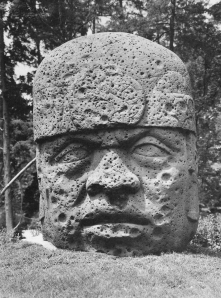 Colossal Head (Monument 2), Olmec, c.900 BC