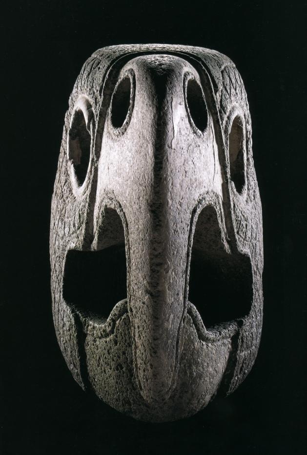 Parrot-Head Ballcourt Marker, Xochicalco, c.600-900 A.D.